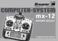 Bedienungsanleitung Graupner JR mx-12 (englische Version) - ROKE