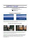 """AIRTEX GmbH """"die sanfte Kühle"""" - AIRTEX GmbH Textile ... - Seite 2"""