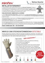 Flyer Metalldetektierung (deutsch) - Markus Heucher