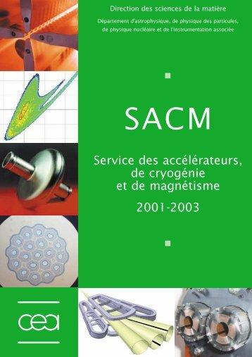 Service des accélérateurs, de cryogénie et de magnétisme - CEA-Irfu