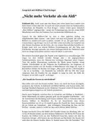 Interview mit dem Möbel Höffner-Chef
