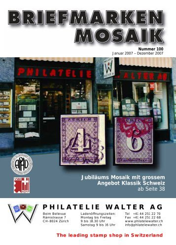 Mosaik 100 - Philatelie Walter