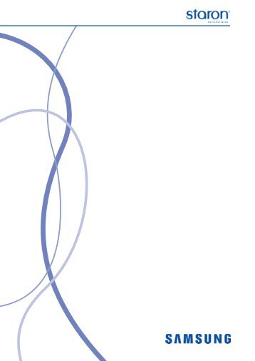 STARON® Platten - Studer Handels AG