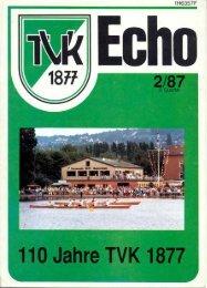 110 Jahre TVK 1877 - Turnverein 1877 eV Essen-Kupferdreh