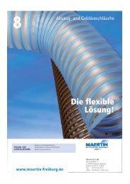 Absaug- und Gebläseschläuche - Maertin & Co. GmbH