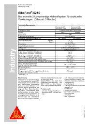SikaFast -5215 - Maertin & Co. GmbH
