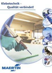 Klebetechnik - Qualität verbindet! - Maertin & Co. GmbH