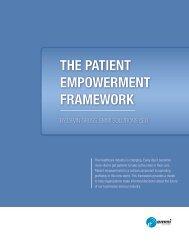 THE PATIENT EMPOWERMENT FRAMEWORK