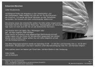 Exkursion München Liebe Studierende, nachfolgend ... - Architektur