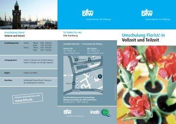Umschulung Florist/-in Vollzeit und Teilzeit - BfW
