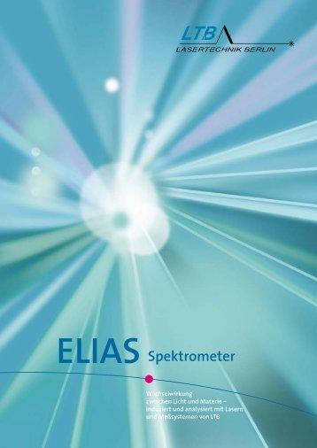 ELIAS Spektrometer - LTB Lasertechnik Berlin