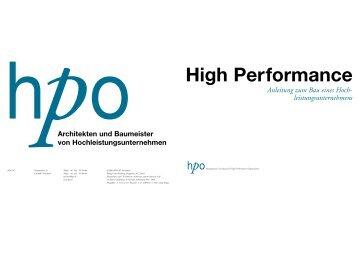 High Performance - HPO
