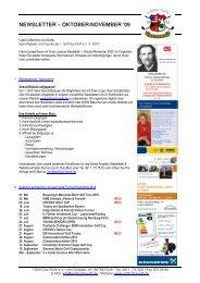 NEWSLETTER – OKTOBER/NOVEMBER ′09 - Golfclub Fürth