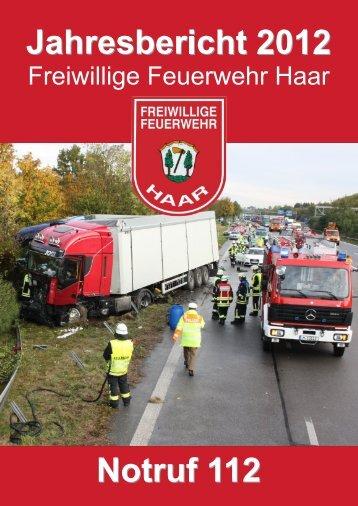 Übungen im Jahr 2012 - Freiwillige Feuerwehr Haar