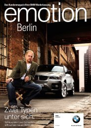 BMW Niederlassung Berlin - publishing-group.de