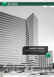 ProPerty rePort Office Market Germany 2013 - BNP PARIBAS Real ...