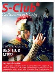 BEN HUR LIVE© in der Olympiahalle - Stadtsparkasse München