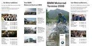 BMW Motorrad Termine 2008 Von Motorradfahrern...