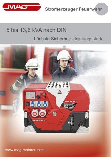 Stromerzeuger Feuerwehr - MAG-MOTOREN GesmbH