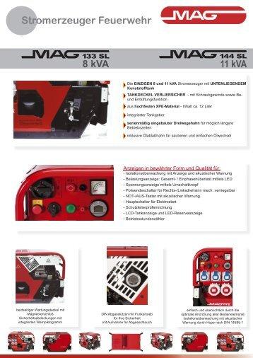 Datenblatt MAG133SL-MAG144SL - MAG-MOTOREN GesmbH
