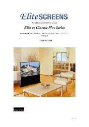 Elite ez Cinema Plus Series