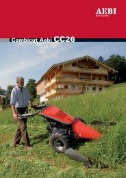 Combicut Aebi CC26 Technische Daten / les ... - Europe service