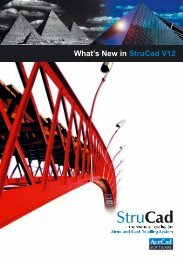 What's New in StruCad V12 - Computer Control Systems