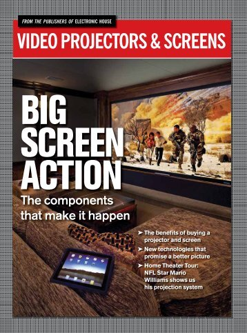 Download this Special Report on Projectors & Screens - Electronic ...