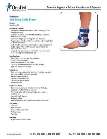 Stabilizing Ankle Brace - OrtoPed