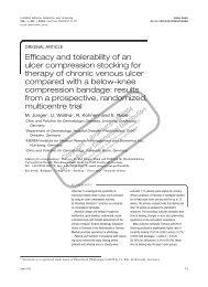 Venotrain ulcertec study (PDF) - Bauerfeind