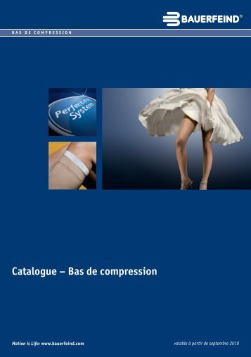 Catalogue – Bas de compression - Medi-Tek