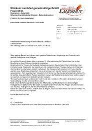 Programm - Brustkrebs Deutschland eV