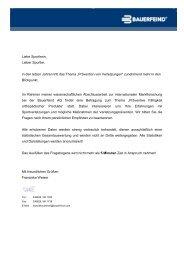 Fragebogen Sportler - Potsdamer Laufclub