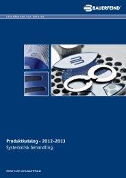 Produktkatalog - 2012-2013 Systematisk behandling. - Bauerfeind