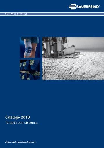 Catalogo Bauerfeind 2011 - Ortopedia Salvati 1850