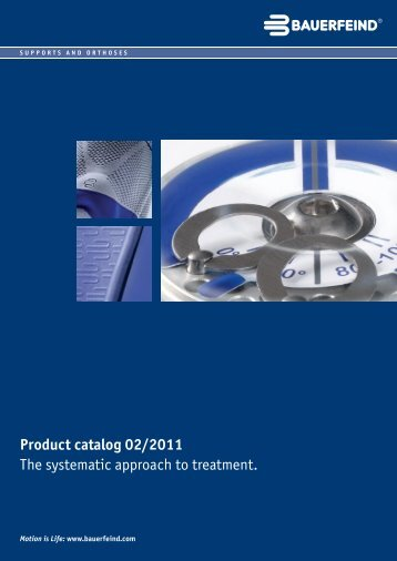 Product Catalogue - Supports and Orthoses - Bauerfeind