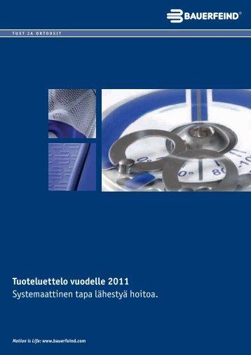 Tuoteluettelo vuodelle – Tuet ja ortoosit (PDF, 3,47 - Bauerfeindin ...