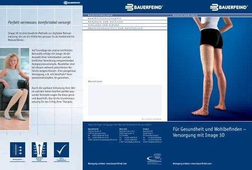 Versorgung mit Image 3D - Bauerfeind AG