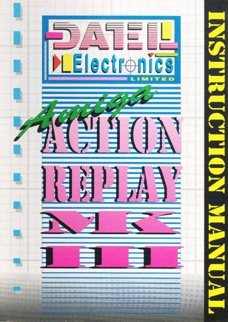 Manual Datel Action Replay Mk3 - Amiga Hardware Database