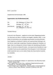 Seminar Experimente - Themen/Literatur - KERN's GAMES ...