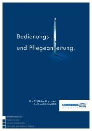 Siegenia Beschläge Bedienungs- und ... - Huber Fenster
