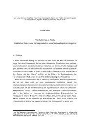 Lucian Kern Von Habermas zu Rawls Praktischer Diskurs und ...