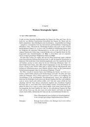 Angewandte Spieltheorie, Kap. 4