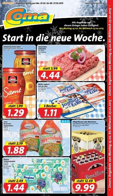 Unsere Angebote von Mon tag 25.02. bis ... - SalesCatalog.de