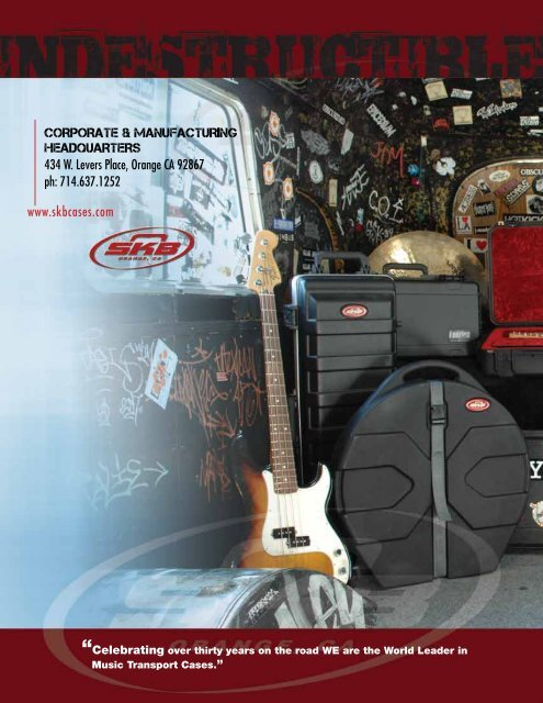 """SKB MARCHING BAND BASS DRUM HARD CASE w// PADDED INTERIOR ~ 14/"""" X 18/"""""""
