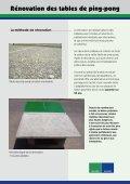 Dépliant Rénovation des tables de ping-pong - Maillith - Page 2