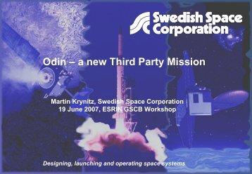 ODIN mission - Congrex