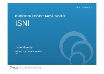 Janifer Gatenby - ODIN