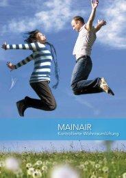 Preisliste Mainair 2013 - Maincor AG