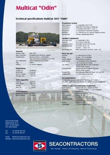 "Multicat ""Odin"" - Seacontractors"